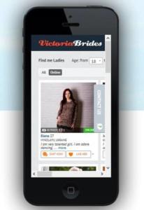 VictoriaBrides mobile version