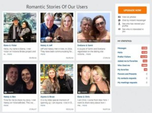 Romantic stories of VictoriaBrides users