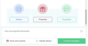 Presentes unicos Kismia online