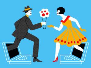 Online dating No more clubbing scene