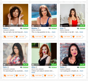 Women on Valentime.com